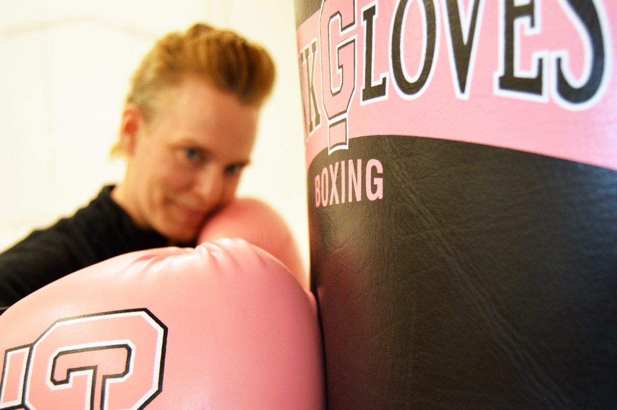 Pink Glove Boxing